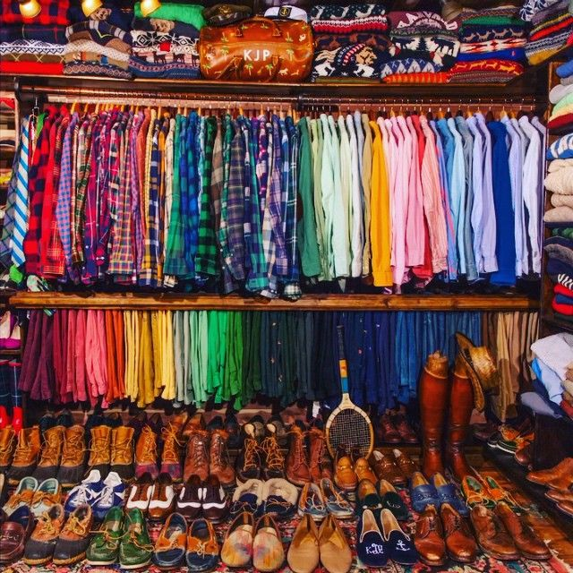 When your boss makes you organize his closet... @KJP