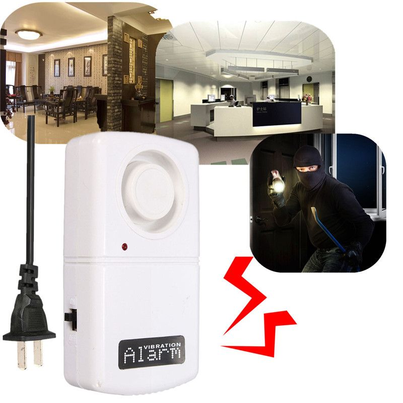 New 1 Pcs Security Safely Home Alarm Automatic Alarm 120 db Power Blackouts Electric Burglar Alarm 220v 380v High Quality #Affiliate