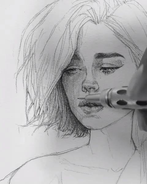 Photo of Pencil Sketch artist Efraín Malo – #