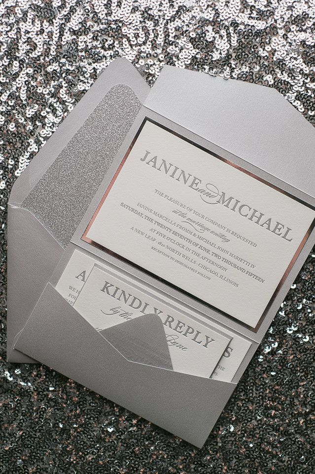 wedding stationery folders%0A ALYSSA Suite    STYLED    Glitter Pocket Folder Package  Invite of the  month SALE  YOU PICK the collection  Pocket Folder Wedding Invitations   Glit u