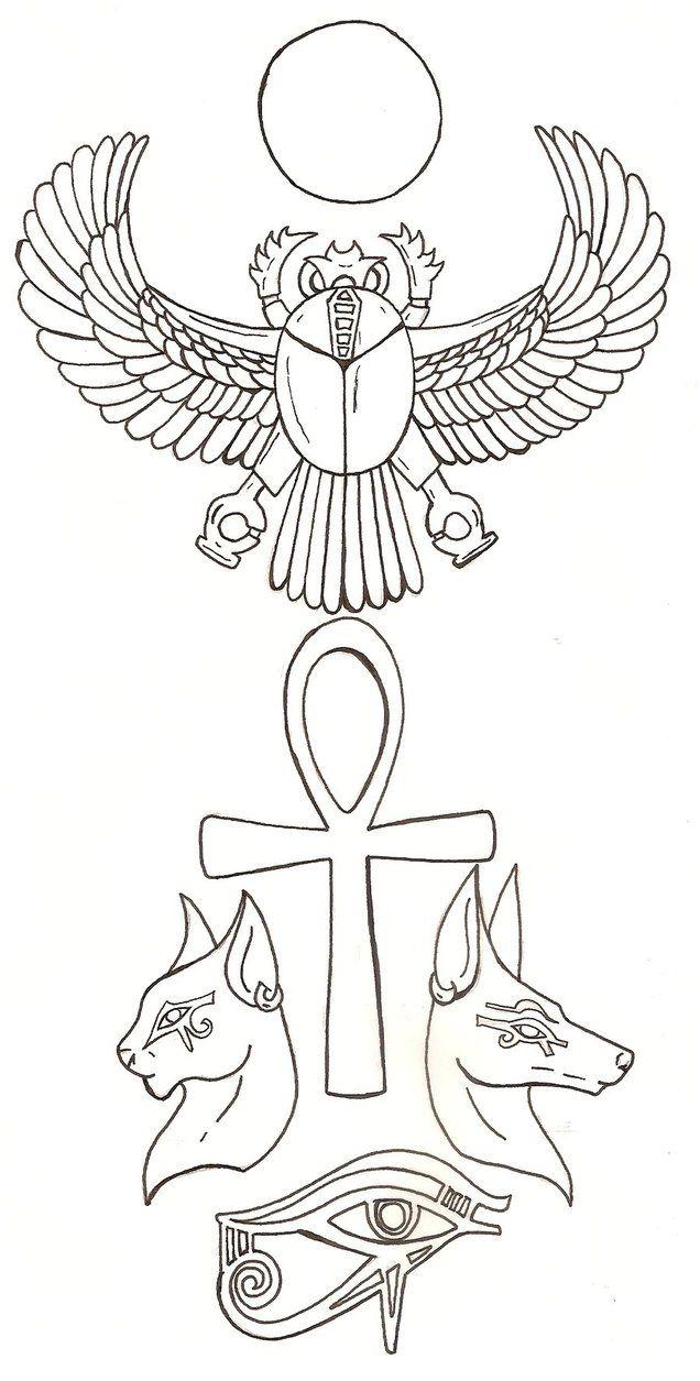Egyptian tattoo by fachhillis on deviantart egipto pinterest egyptian tattoo by fachhillis on deviantart biocorpaavc Images