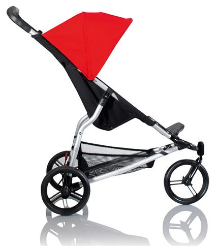 Discontinued by Manufacturer Mountain Buggy Swift Compact Stroller Chili