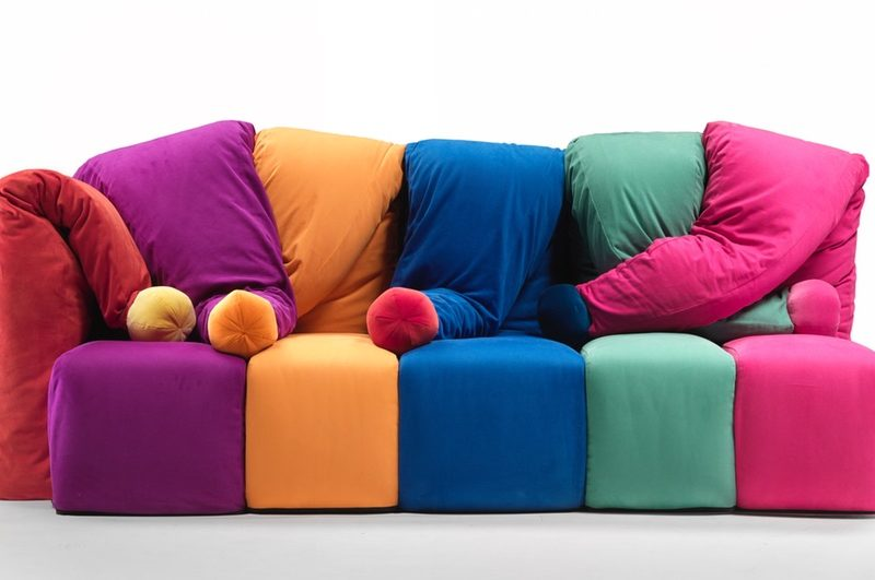 Iconic Gaetano Pesce Designs The Il Giullare Sofa Named After The Hat Of A Giullare That S Jester In Italian And Others Cosy House Design Icon Design