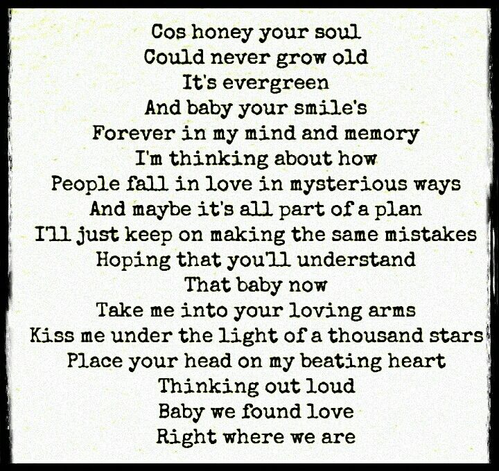 ♡We found love right where we are♡ | We found love, Quotes ...