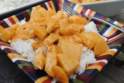 Massaman Chicken Curry - Shugary Sweets