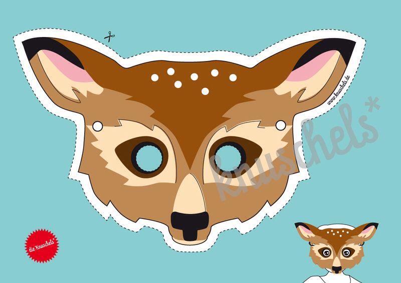 reh maske deer mask 830 fasching pinterest reh. Black Bedroom Furniture Sets. Home Design Ideas