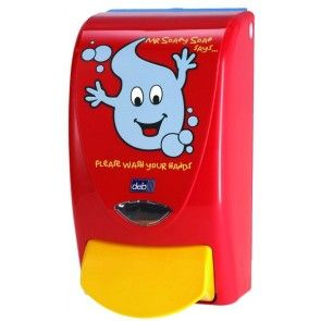 Mr Soapy Soap 1 Litre Childrens Soap Dispenser Soap Dispenser
