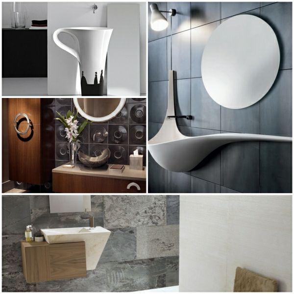 Doppelwaschbecken modern maße  moderne waschbecken designer waschbecken waschbecken modern ...