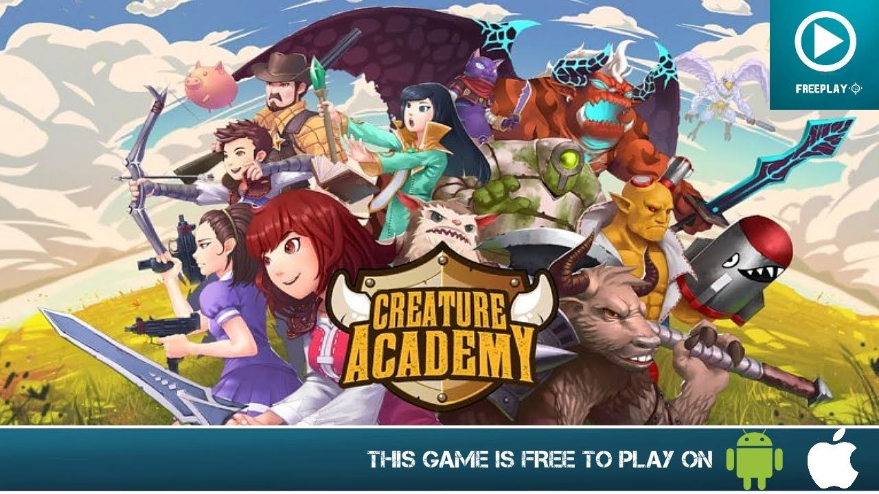 Creature academy free on android ios hd gameplay
