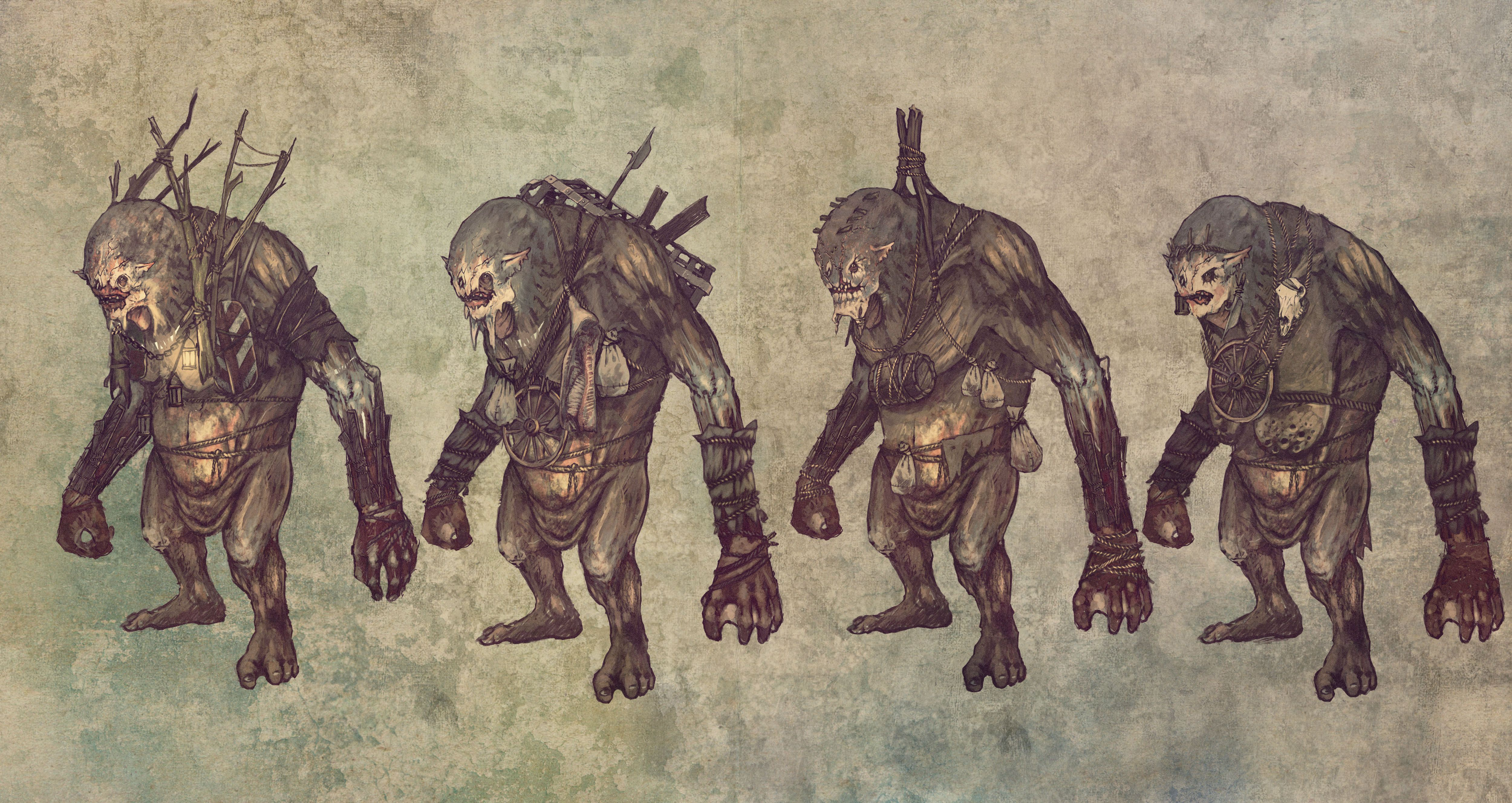 Troll concept art
