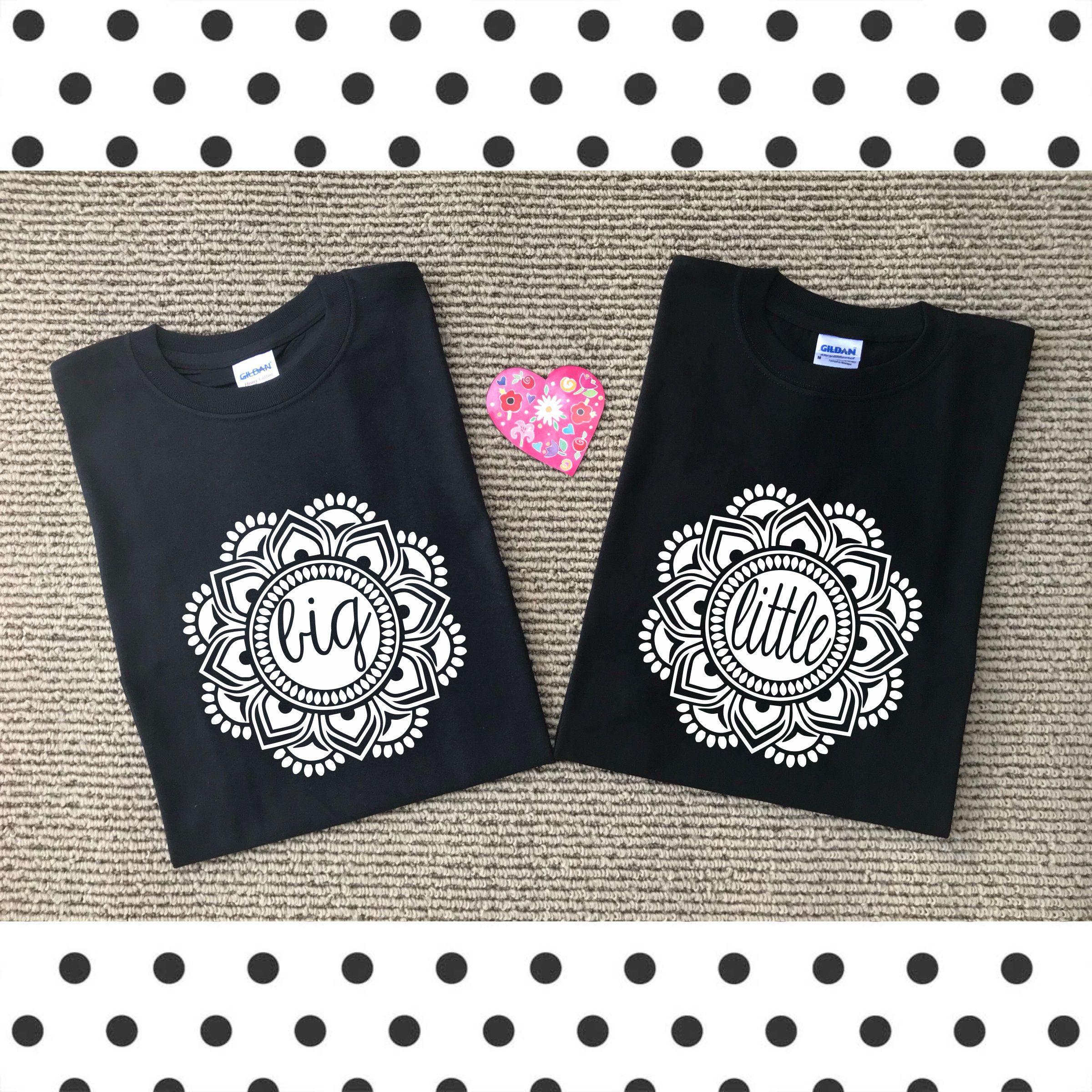 Big Little shirts || Big Little Reveal || Mandala || Sorority Sisters || Greek Life || Sorority Family || Cheer Sisters #biglittlereveal