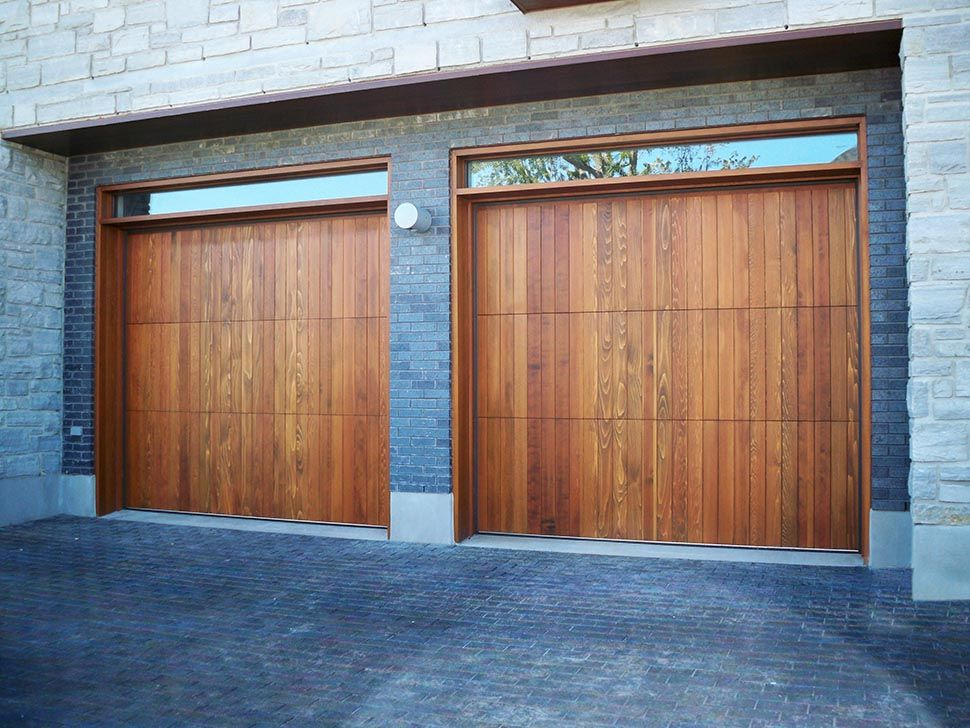 Wood Garage Doors Garage Living Garage Pinterest