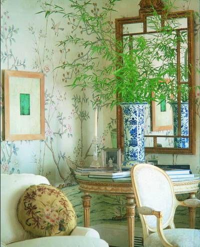 Chinoiserie Hand Painted Wallpaper CHINOISERIE 38