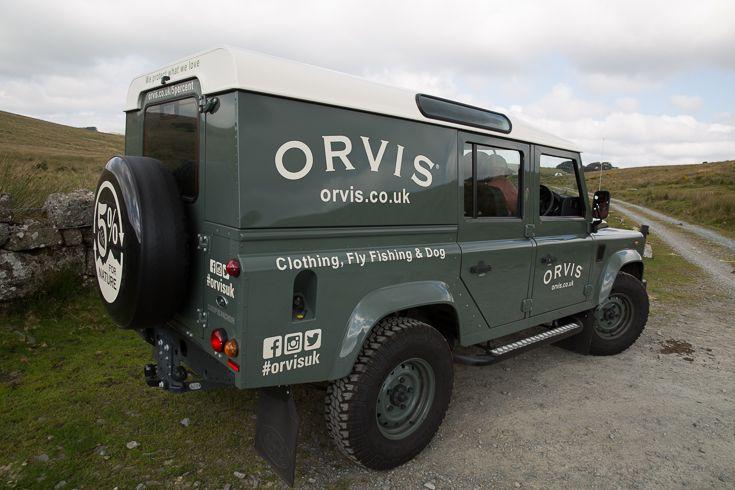 The Orvis Defender Richard Banbury Photography Orvis Co Uk Range Rover Orvis Sweepstakes