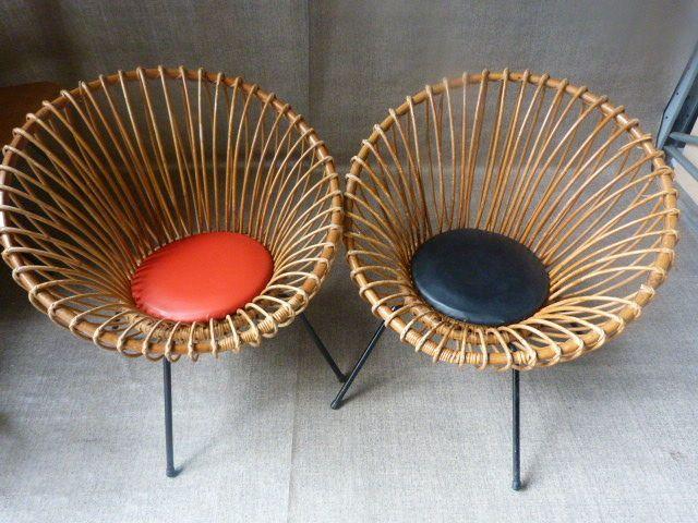 Rotan Lounge Stoel : Online veilinghuis catawiki rohé rotan lounge stoelen rohé