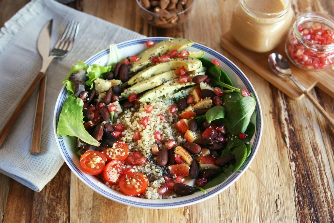 Receta: Ensalada detox de quinoa