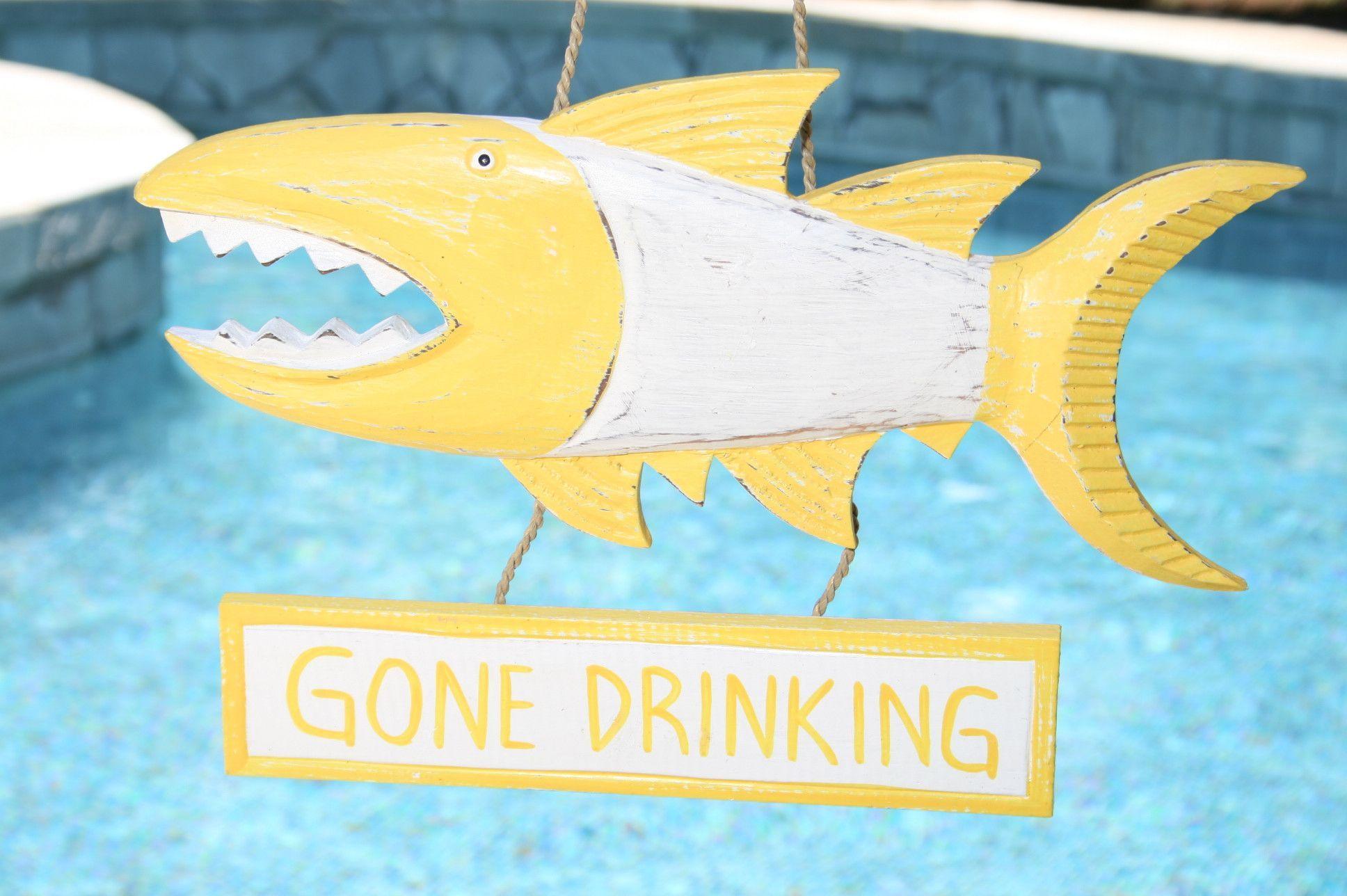 GONE DRINKING\