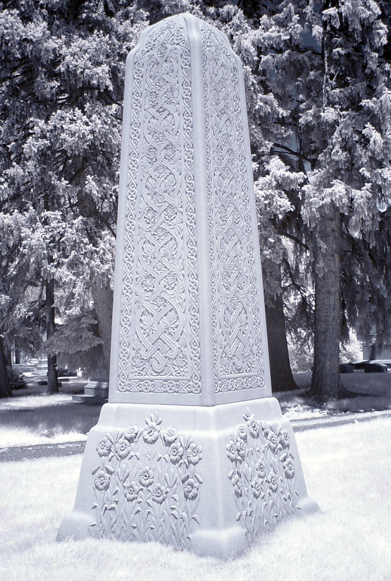 Celtic Obelisk by Ericka VanHorn Celtic, Vikings