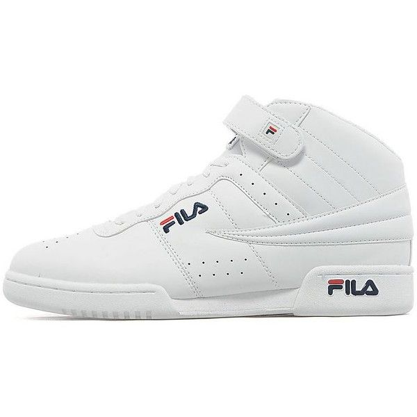 Fila F13 ($45) ❤ liked on Polyvore featuring mens, men's shoes and men's sneakers