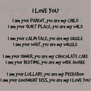 Parents Love Poem Words Me Quotes Quotes