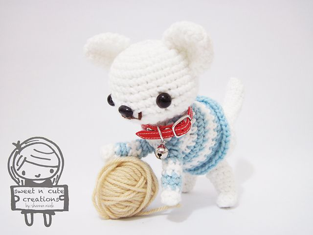 Ravelry: Amigurumi Chewie the Chihuahua pattern by Sweet N' Cute Creations