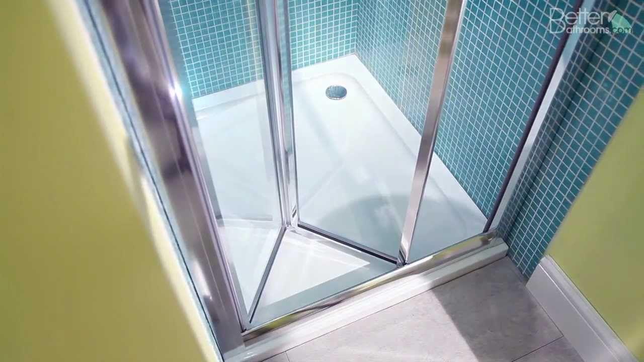 Aquafloe 760 Bi Fold Shower Door Bifold Shower Door Shower Enclosure Shower Doors