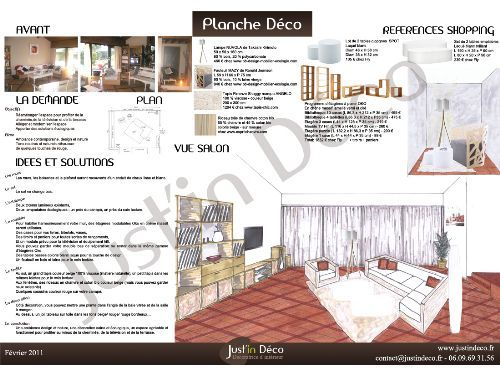 Planche d co salon design contemporain nature ecolo for Decoration interieure design et tendance