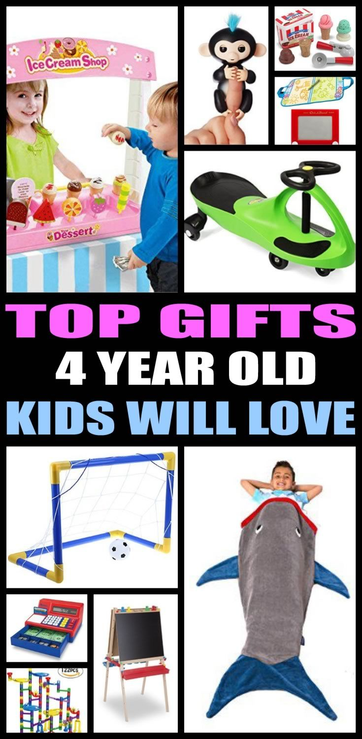 The Ultimate Gift Guide For 4 Year Olds Find Top Birthday Gifts That A Old Boy Or Girl Will Love Shopping Can Be Hard