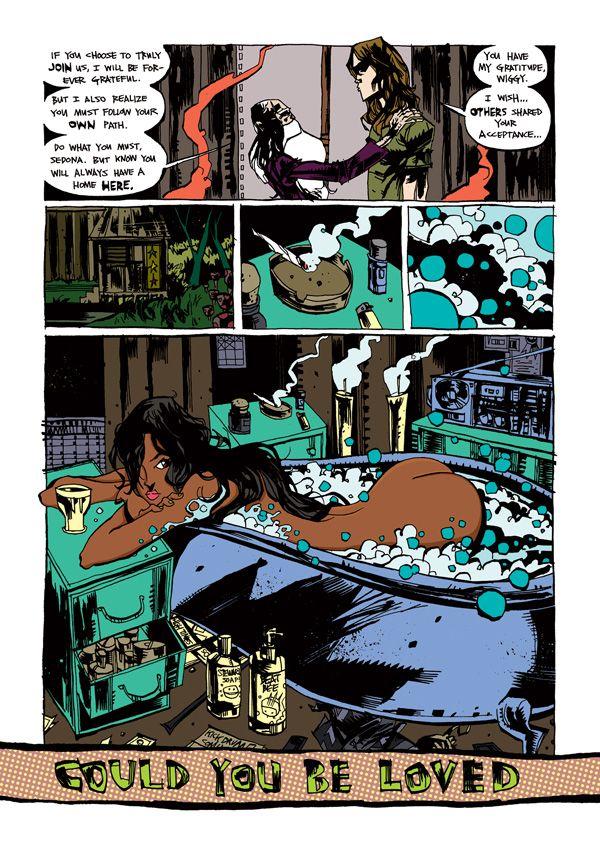 Marijuanaman | JimMahfood.com: Visual Funk Art Destrucción del artista Jim Mahfood aka Alimentos Uno