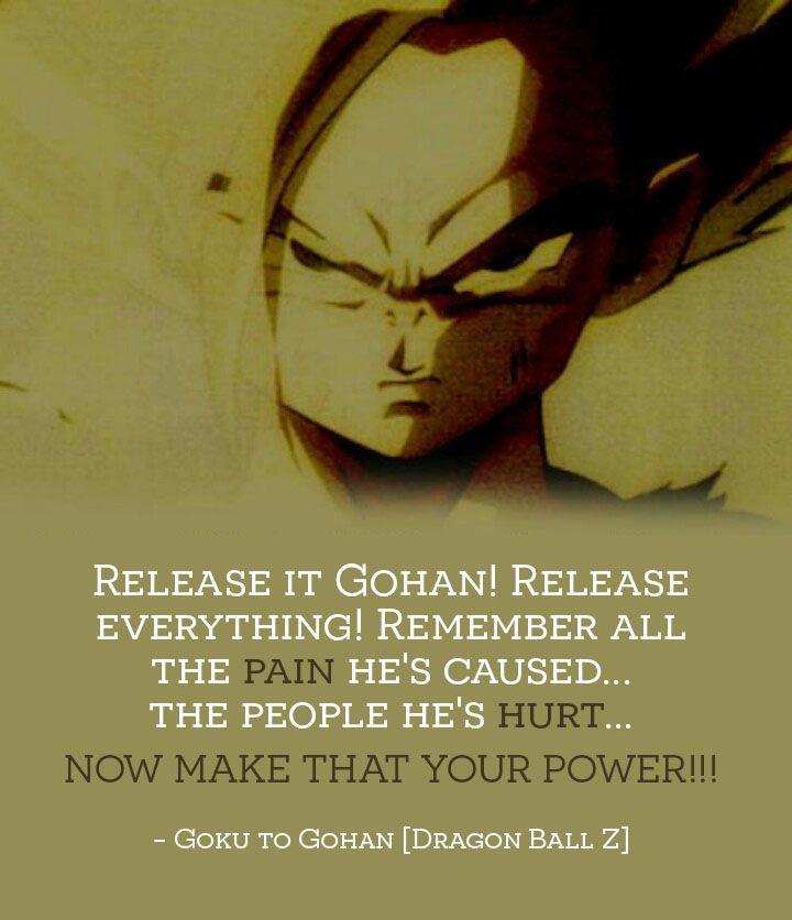 Dragon Ball Z Goku Quote Dragon Ball Dragon Ball Super Goku Dragon Ball Goku