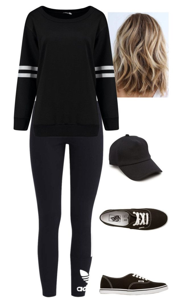 """Untitled #492"" by jojomix ❤ liked on Polyvore featuring adidas Originals, Vans and rag & bone"