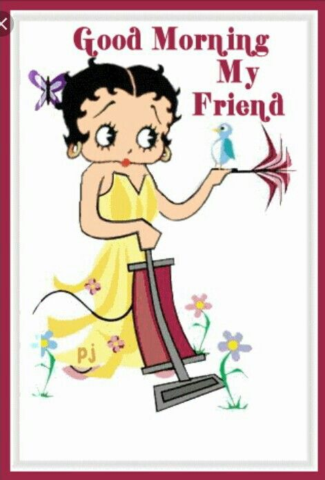 Pin By Roachmartha55 Edwards On Good Morning Or Night Betty Boop