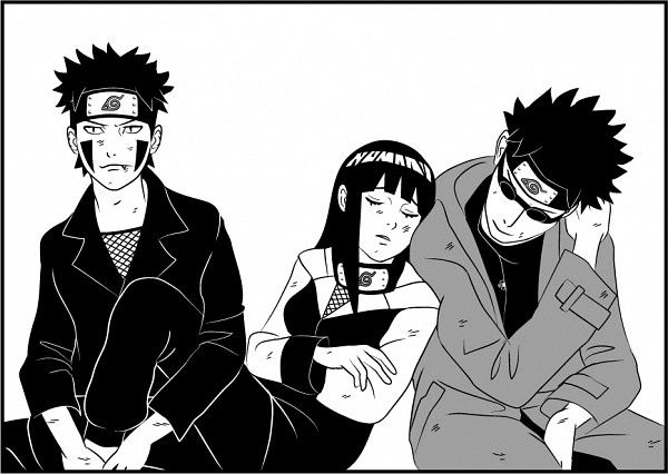 Team 8:Kiba,Hinata, and Shino | Anime/Manga/Video Games ...