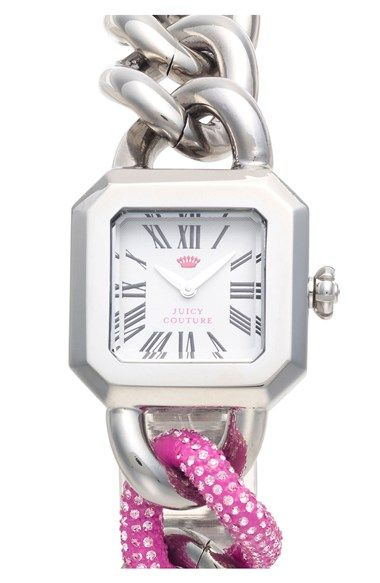 Purchased this watch today. Extremely nice! Juicy Couture Chain Link Bracelet Watch