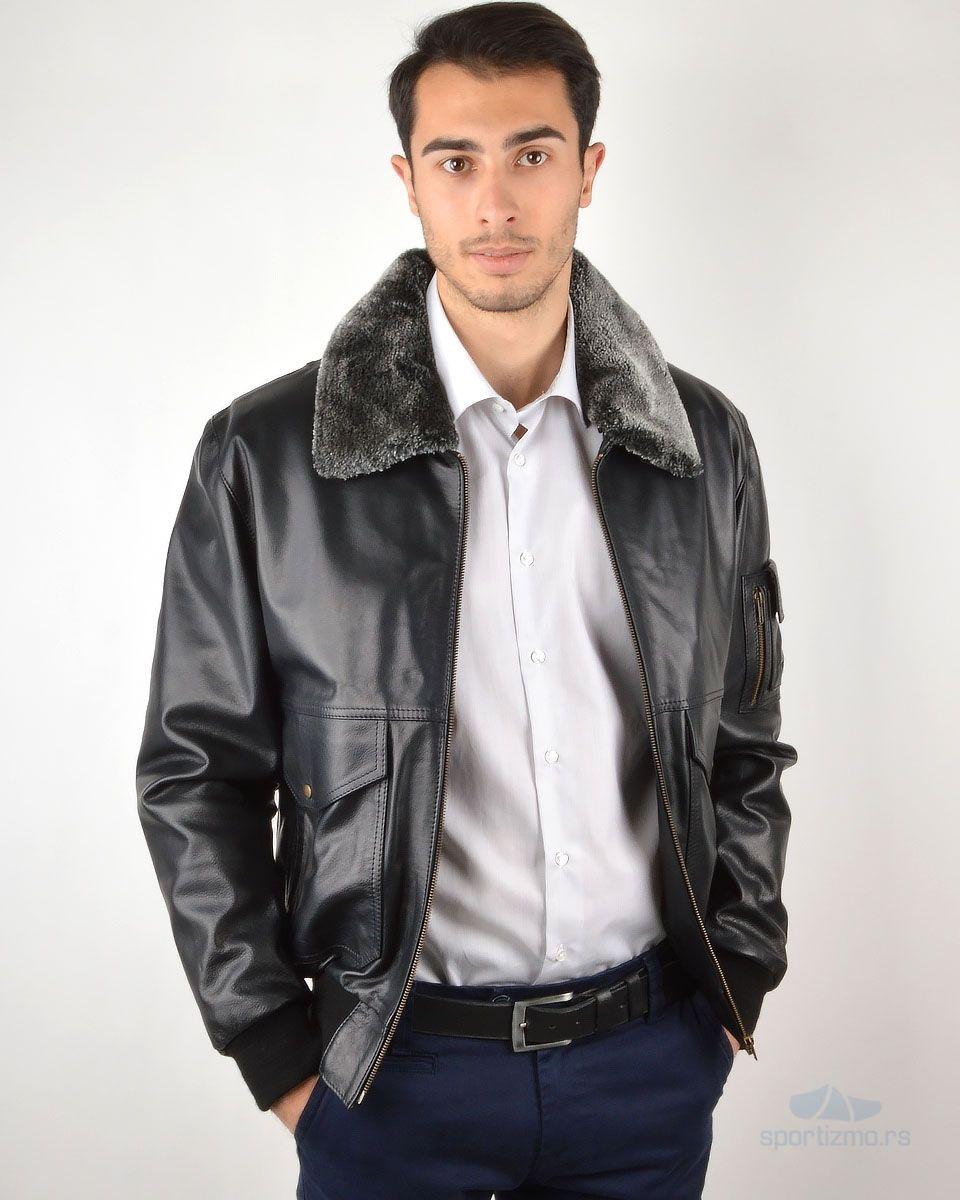 Boston Harbour Leather Jacket