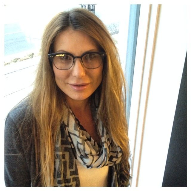 ae3e87ff848c Stunning Laura picked out these cute  DITA eyewear STATESMAN TWO in matte  black with 18K hardware. We can t wait to see them with her prescription  and ...