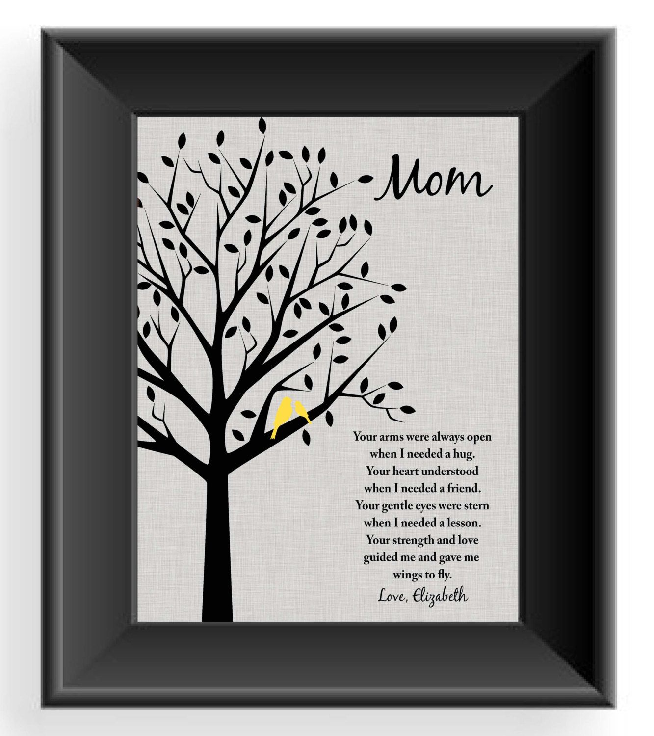 Custom Mom Gift  Mothers Day Gift  Personalized Mother