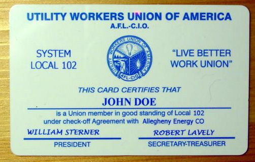 The Plastic Card People Plastic Card Printing Plastic Cards Membership Card Printed Cards Workers Union