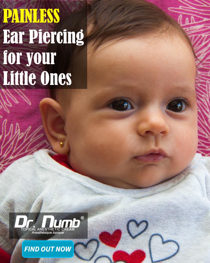 Numbing Cream For Infant Ear Piercing Painful Dermal Procedures