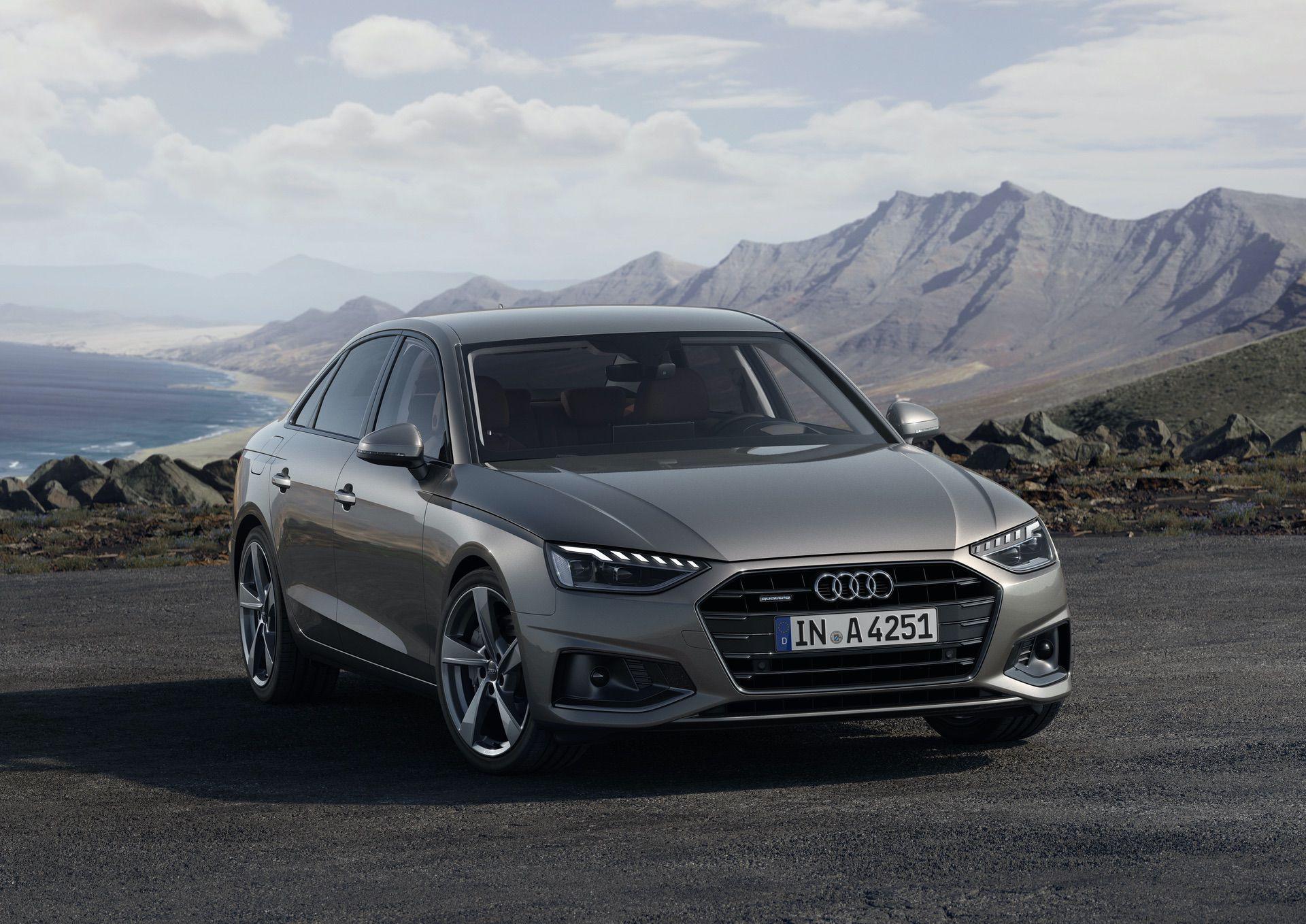 Photo Comparison 2020 Audi A4 Sedan Facelift Vs Bmw G20 3 Series Audi A4 Bmw Sedan