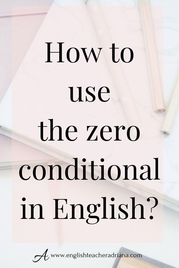 Conditionals - zero & first conditionals (English Grammar ...