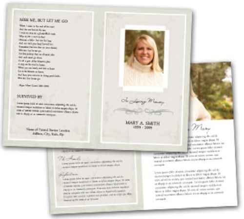 Funeral Program Template Places to Visit Pinterest Program - funeral flyer template