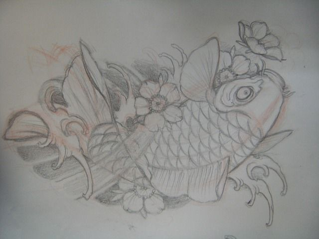 One of my next tattoos!! Artist from Japan drew this up for me.