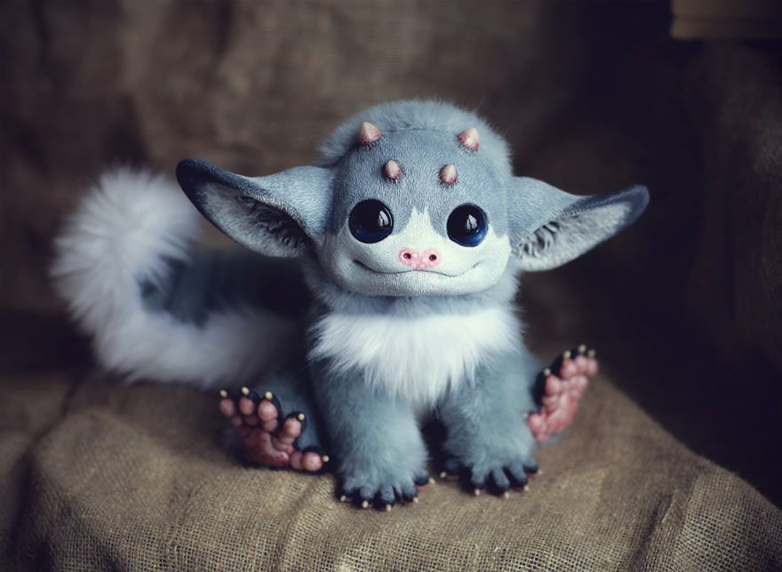 Ultrarealistic Fantasy Dolls Its Scary How Real They Look - Look like real baby animals actually incredibly realistic toys
