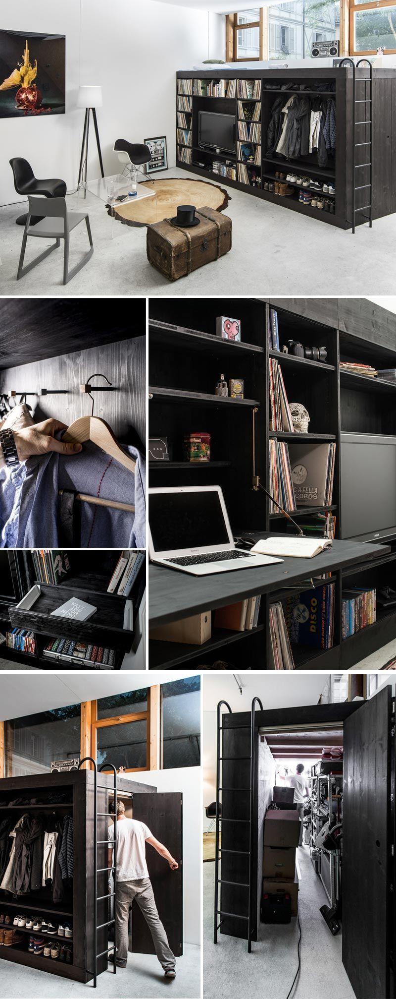 stylish multitasking studio in smallspace living small house