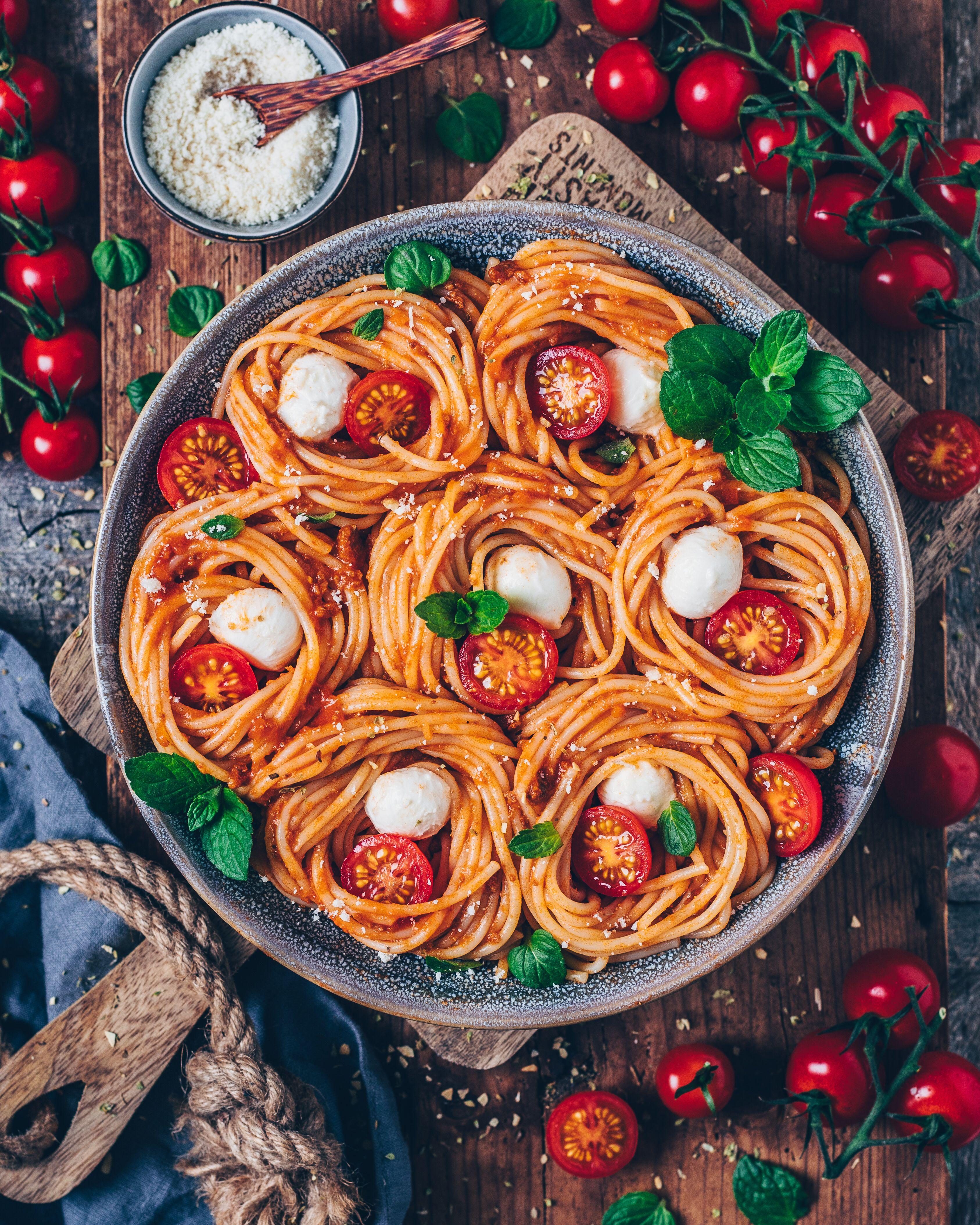 Photo of Vegan Spaghetti Bolognese (easy recipe)