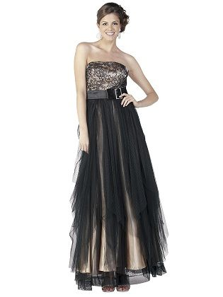 Strapless dress formal