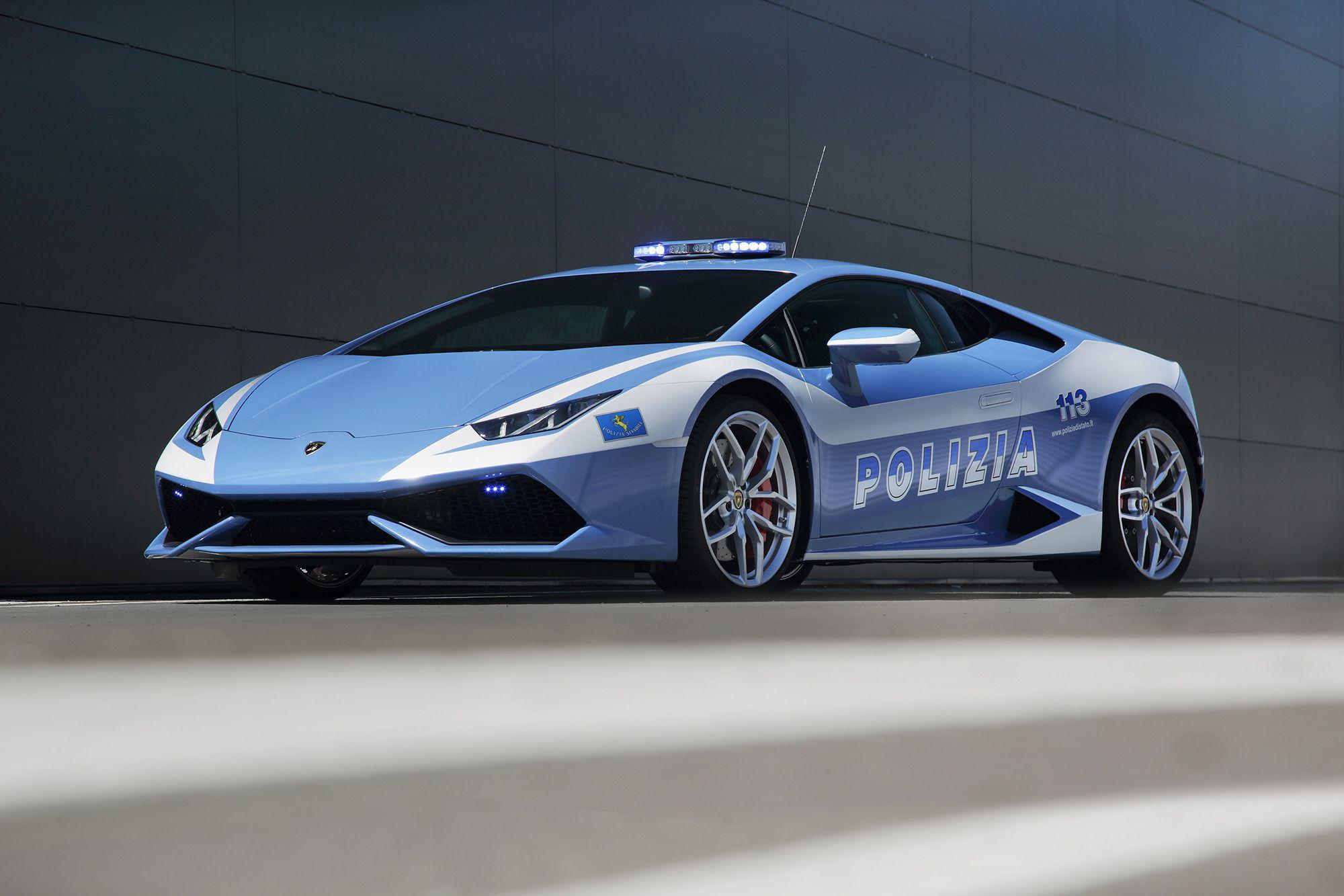 Lamborghini Huracan donated to Italian State Police fleet s