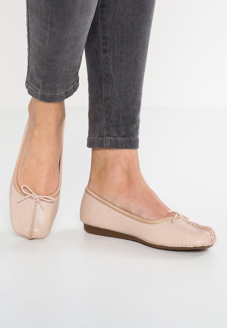 df2e960386 Clarks FRECKLE ICE - Ballerinas - nude - Zalando.se | shoes | Shoes ...