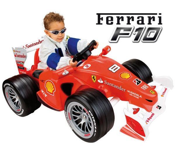 Feber Voiture Electrique Ferrari F10 Pixmania Com Voiture Electrique Formule 1 Voiture